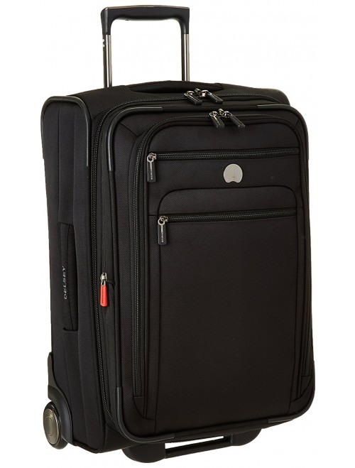 Delsey Luggage Helium Sky Carry-On Expandable Trolley Suitcase