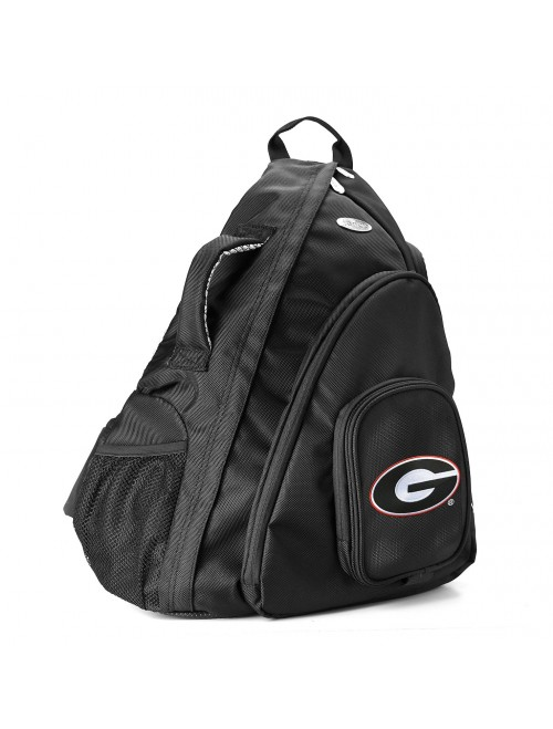 DENCO Georgia Bulldogs Travel Sling Backpack