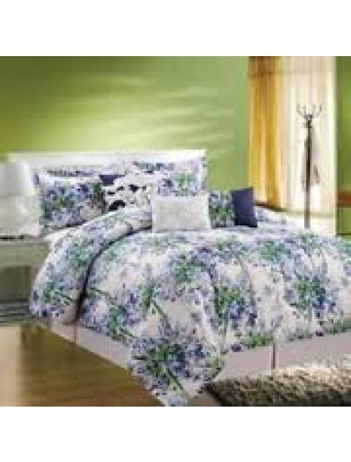 COMPASS Layla 5 Piece Luxurious Comforter Set