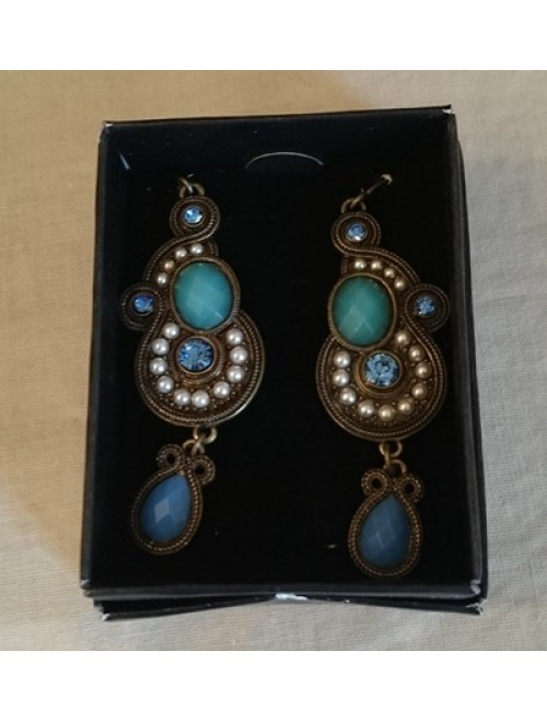 Avon tribal style drop earrings