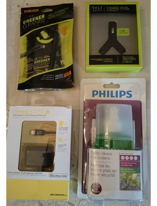 Mobile chargers and cleaners
