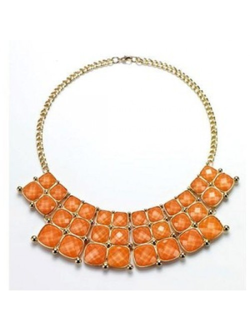 Avon sunset statement necklace