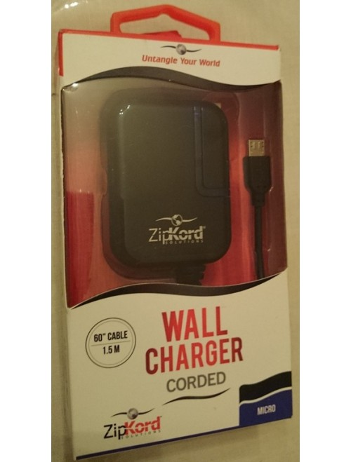 ZipKord  wall Charger corded