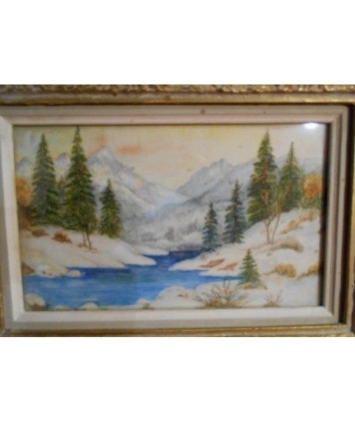 Antique Framed Artwork