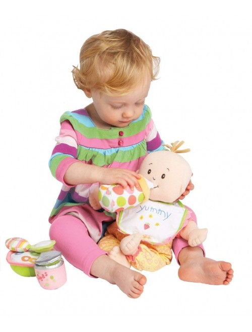 Manhattan Toy Baby Stella Feeding Baby Doll Accessory Set