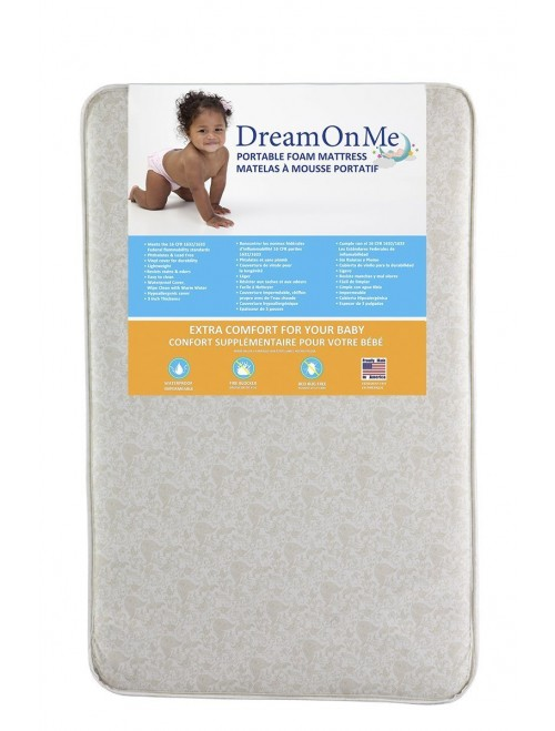 Dream On Me Foam Pack and Play Mattres