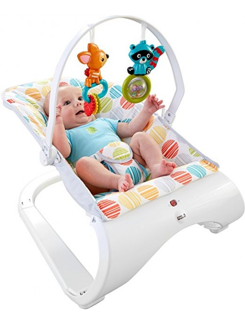 Fisher-Price Comfort Curve Bouncer, Multi color