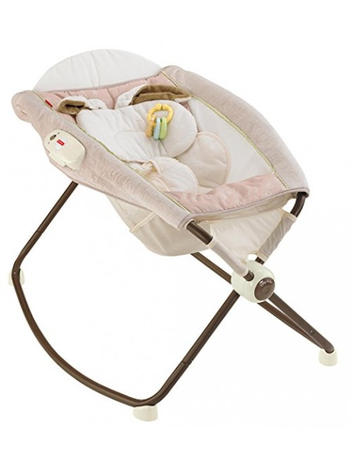 Fisher-Price My Little Snugabunny Deluxe Rock 'n Play Sleeper