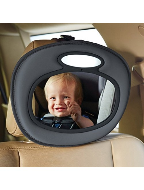 Brica Night Light Musical Baby In-Sight Car Mirror