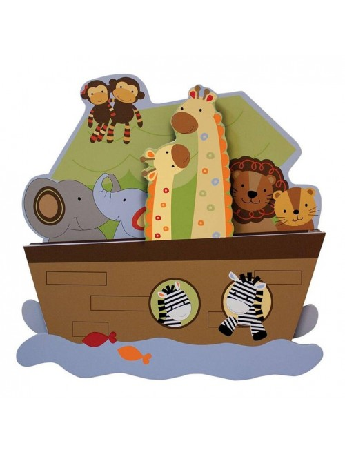 Lambs & Ivy S.S. Noah's Ark Wall Decor