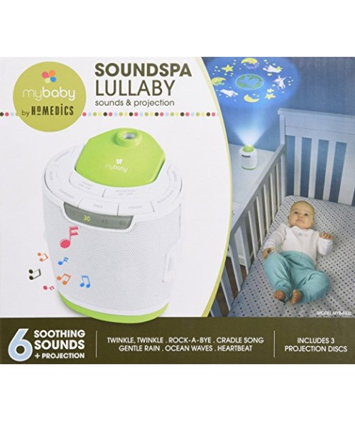 MBaby Soundspa Lullaby Sound Machine and Projector